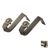 Rod Desyne 2-Pack 9/16-in Antique Brass Wall Brackets