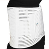 Alps South White Elastic Support Large Back Brace