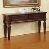 Steve Silver Company Davina Cherry Rectangular Console and Sofa Table