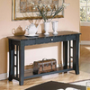 Steve Silver Company Cassidy Black Rectangular Console and Sofa Table