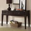 Furniture of America Torino Dark Walnut Birch Rectangular Console and Sofa Table