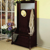 Powell Heirloom Cherry 5-Hook Coat Stand