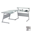 Eurostyle Aluminum L-Shaped Desk