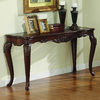 Homelegance Ella Martin Brown Cherry Rectangular Console and Sofa Table