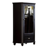 Homelegance Hanna Black Armoire