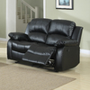 Homelegance Cranley Leather Dual Reclining Loveseat