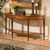 Butler Specialty Connoisseur's Half-Round Console and Sofa Table