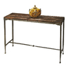 Butler Specialty Mountain Lodge Burnt-Umber Wood Metal Rectangular Console and Sofa Table