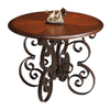 Butler Specialty Metalworks Metal Round Console and Sofa Table
