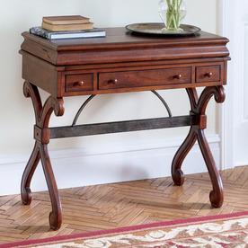 Shop butler specialty plantation cherry computer desk at for Plantation desk plans