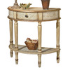 Butler Specialty Artists' Originals Tuscan Cream Hand Painted Half-Round Console and Sofa Table