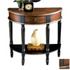 Butler Specialty Artists' Originals Cafe Noir Half-Round Console and Sofa Table