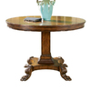Butler Specialty Connoisseur's Round Console and Sofa Table