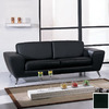 BH Design Julie Leather Stationary Sofa