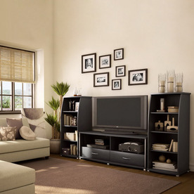 Shop South Shore Furniture City Life Pure Black Television