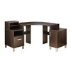 South Shore Furniture Element Chocolate Corner Desk