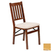 Stakmore Set of 2 Oak Dining Chairs