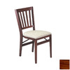 Stakmore Set of 2 Cherry Dining Chairs