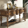 Somerton Home Furnishings Melbourne Primavera Walnut Rectangular Console and Sofa Table