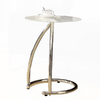 Monarch Specialties Chrome Round End Table
