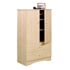 Nexera Alegria Natural Maple Armoire