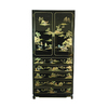 Oriental Furniture Black Armoire