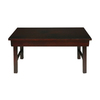 Oriental Furniture Matte Lacquer Elm Rectangular Coffee Table