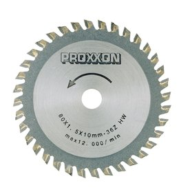 Proxxon 3-9/64-in 36-Tooth Turbo Circular Saw Blade