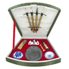 Oriental Furniture Fancalligset Fan Calligraphy Set