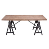 UMA Enterprises Accent Black Rectangular Dining Table