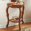 Design Toscano Lady Juliet Half-Round Console and Sofa Table