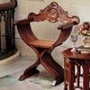 Design Toscano Savonarola Brown Accent Chair