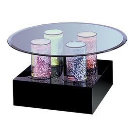 Shop Midwest Tropical Aqua Tables Multicolor Round Coffee Table At