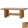 Viking Industries Barnwood Honey Pine 48-in Dining Bench