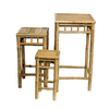 Bamboo 54 Natural Oil Bamboo Accent Table Set
