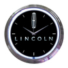 Neonetics Standard/Arabic Numeral Lincoln Neon Chrome Clock