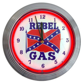 Shop Neonetics Rebel Gas Neon Wall Clock at Lowes.com
