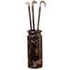 Design Toscano Ebony Cane and Umbrella Stand