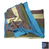 KOKO Company Alpaca Blue and Brown 60-in L x 60-in W Wool Throw
