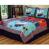 PEM America Outlet Pirate Treasure 3-Piece Red Full/Queen Quilt Set