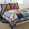 PEM America Outlet Cool Skate 3-Piece Navy Blue Full/Queen Quilt Set