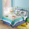 PEM America Outlet Colorful Sea 3-Piece Multicolor Full/Queen Quilt Set