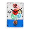 Maple's Colorful Moving Gear Table Clock