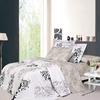 North Home Bedding Emily 4-Piece White Queen Duvet Set