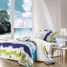 North Home Bedding Fantasy 4-Piece Multicolor Queen Duvet Set