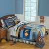 My World Construction 2-Piece Twin Quilt Set