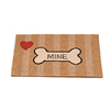Classy Custom 30-in x 19-in Rectangular Door Mat