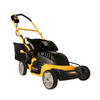 Recharge Mower 36-Volt Cut Width Cordless Electric Push Lawn Mower