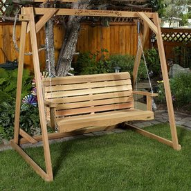 Freestanding Porch Swing Frame