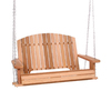 All Things Cedar Natural Wood Porch Swing